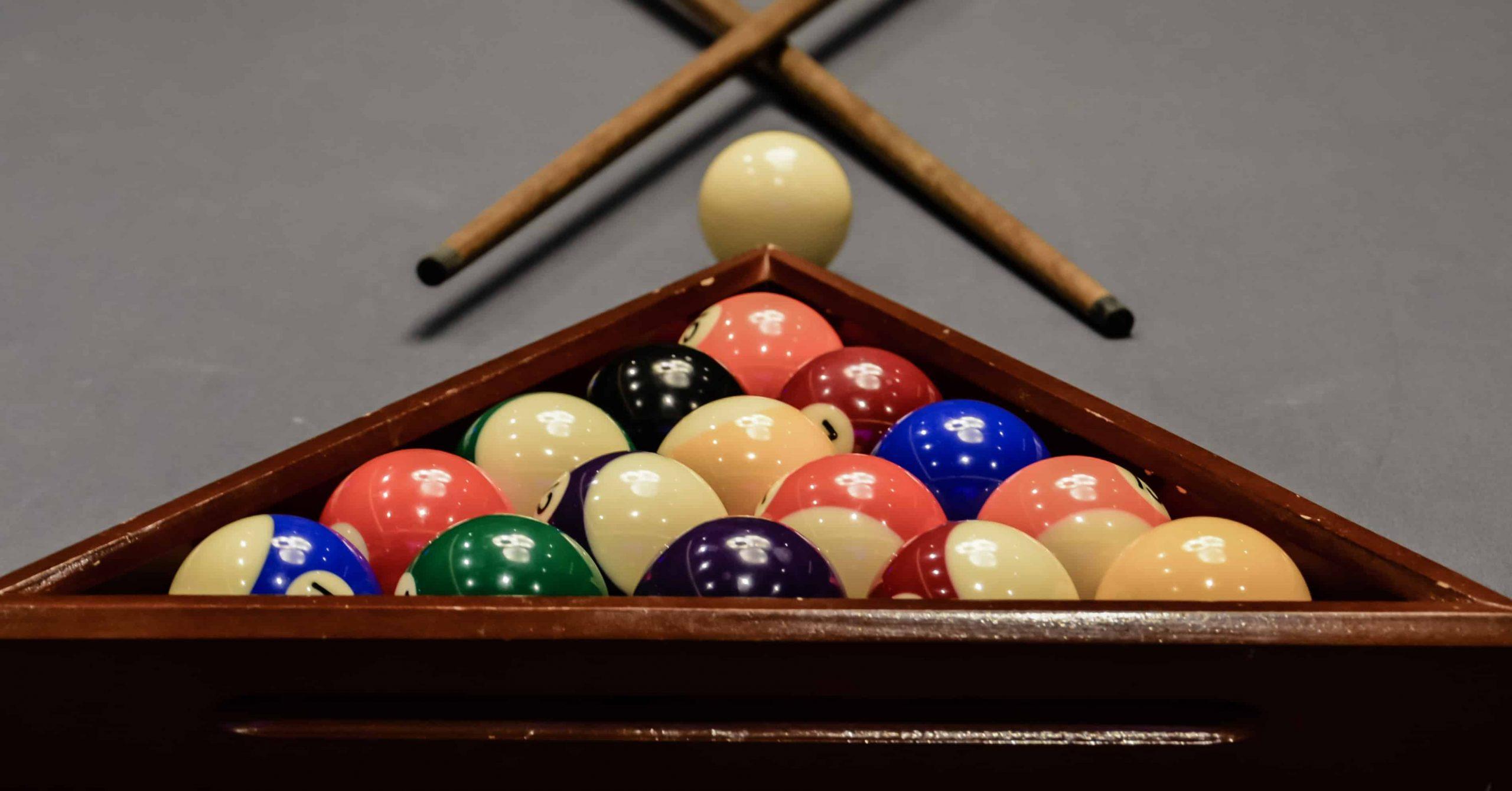 How to Rack Pool Balls Correctly