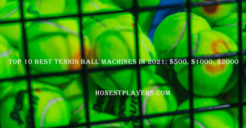 Practicing with the Best Tennis Ball Machines