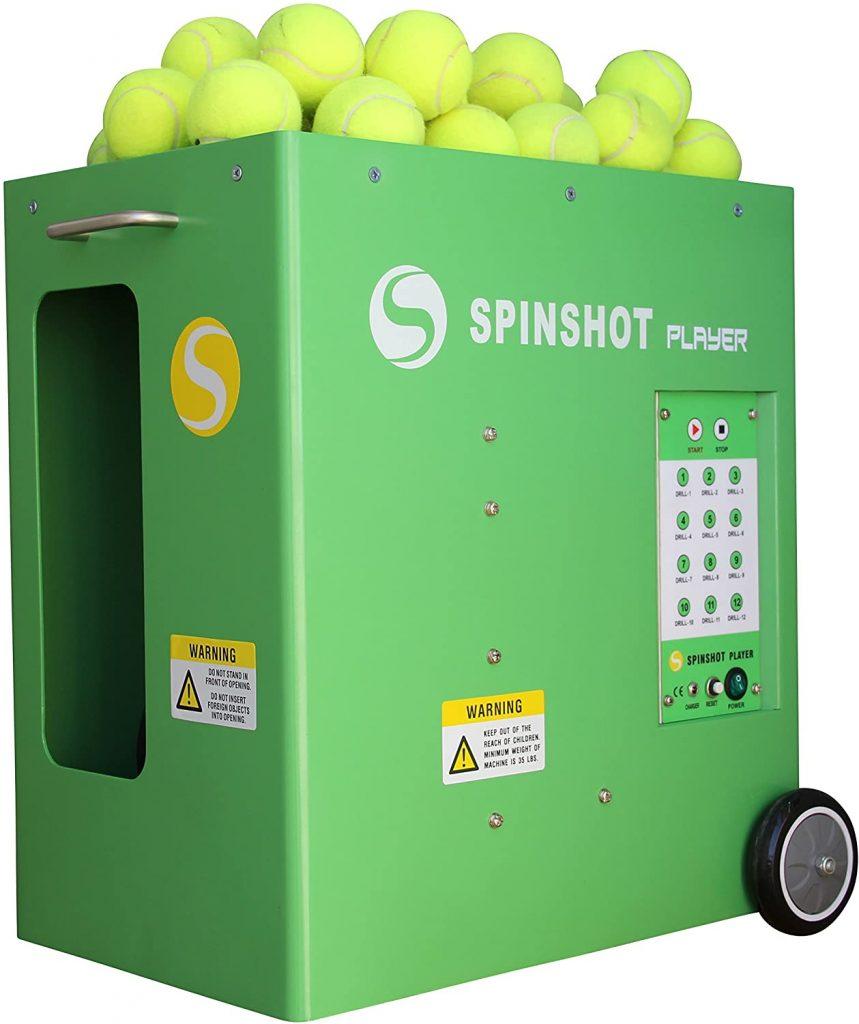 Spinshot Player Tennis Ball Machine Review