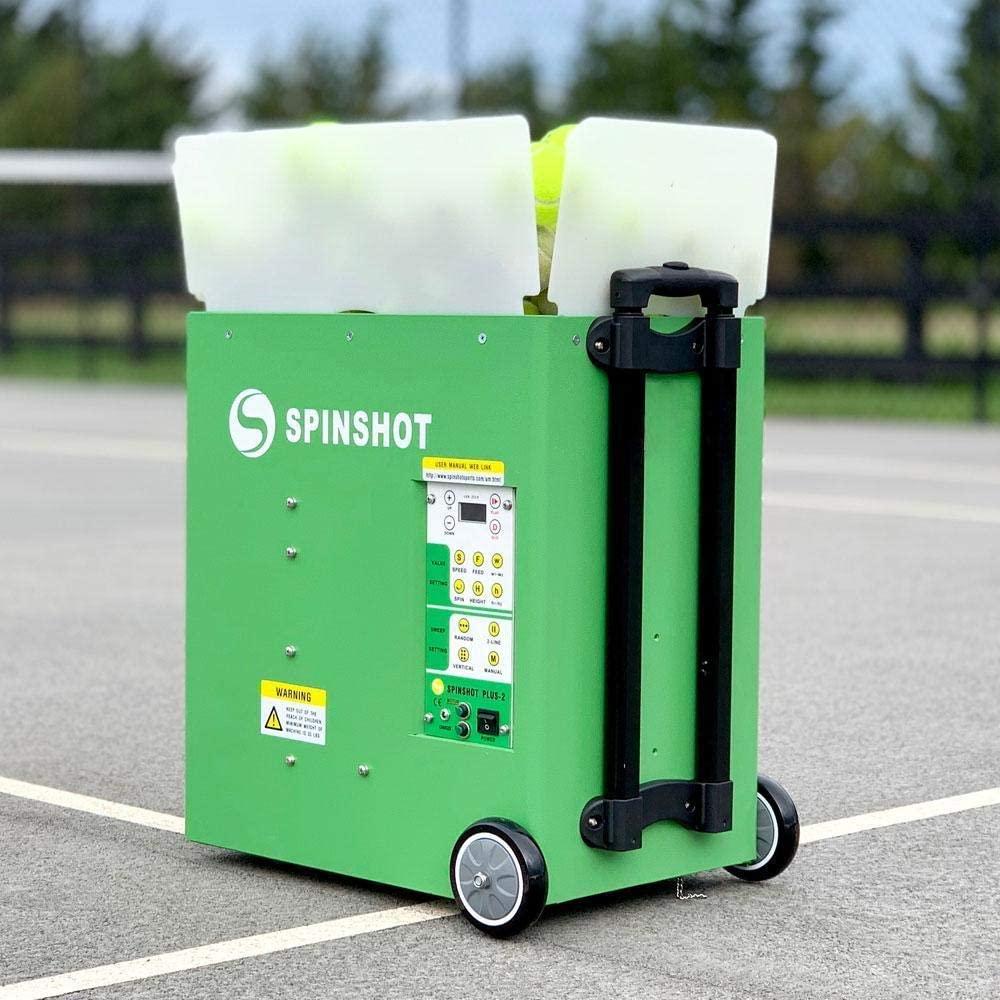 Spinshot Plus-2 Tennis Ball Machine Review