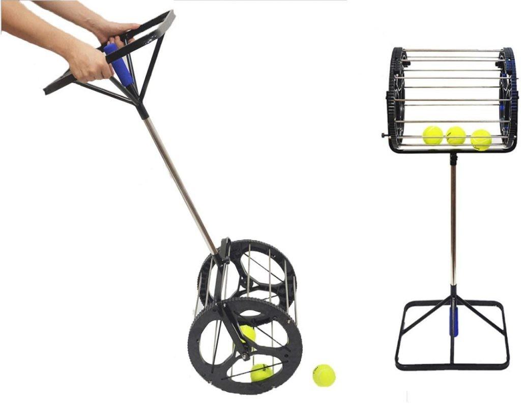 CHAOFAN [2 in 1] Tennis Balls Pickup - Best Tennis Ball Picker Upper