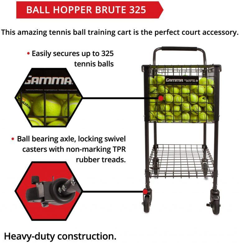 Gamma Sports Premium Tennis Ball Cart