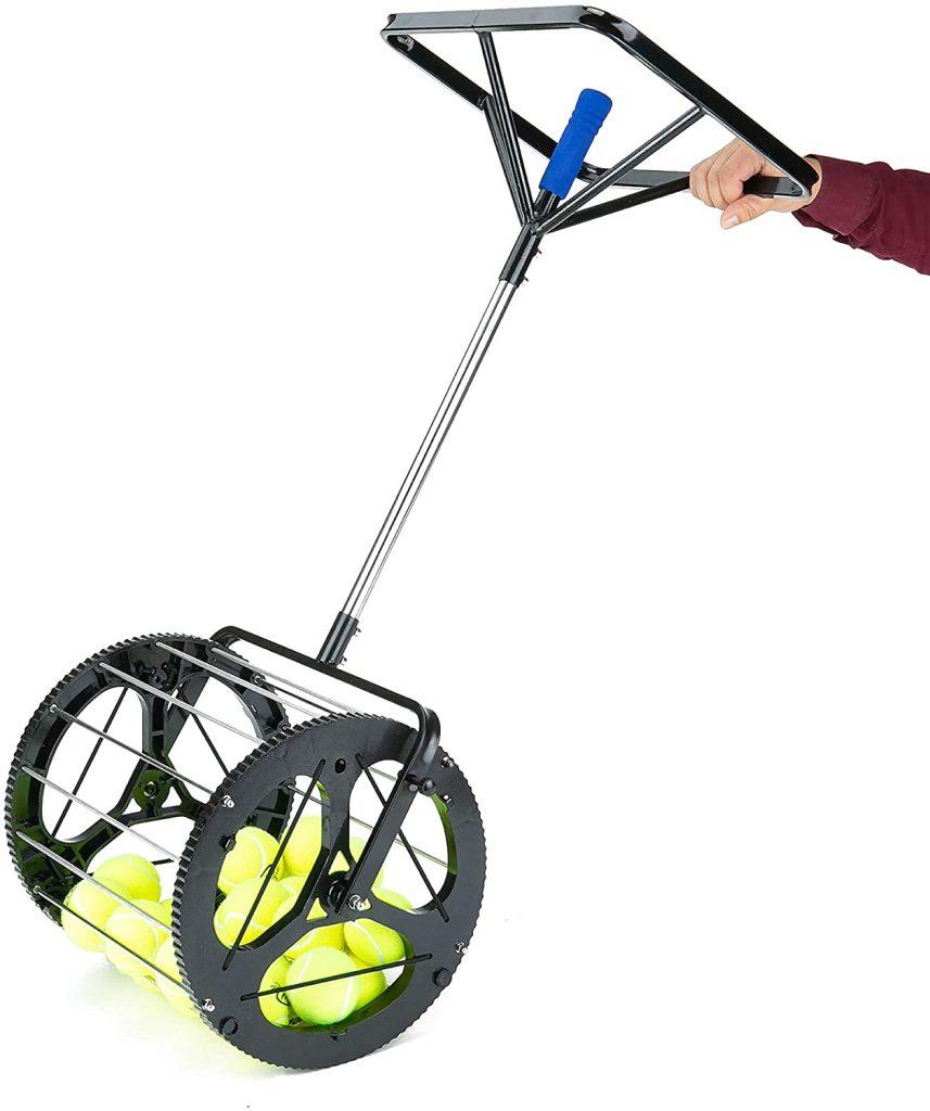 Mind Reader Mower Tennis Ball Collector